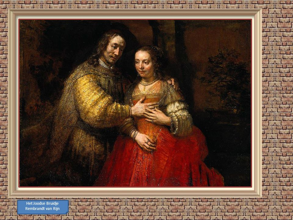 Het Joodse Bruidje Rembrandt van Rijn