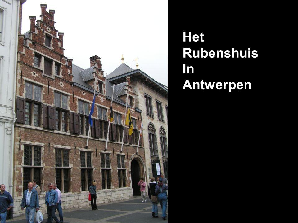 Het Rubenshuis In Antwerpen