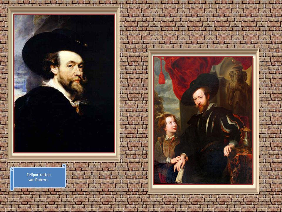 Zelfportretten van Rubens.