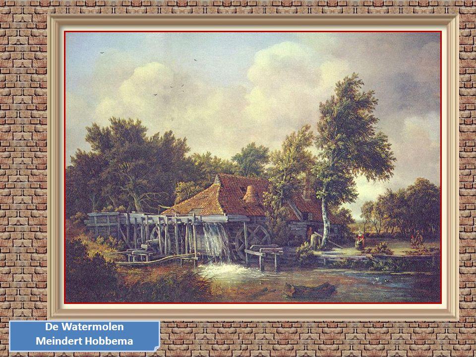 De Watermolen Meindert Hobbema