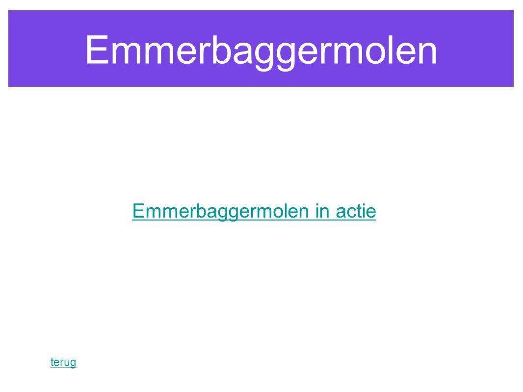 Emmerbaggermolen in actie