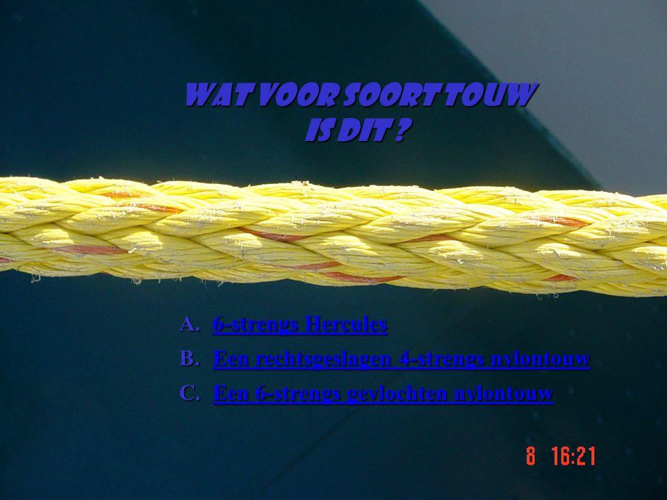 Wat voor soort touw Is dit