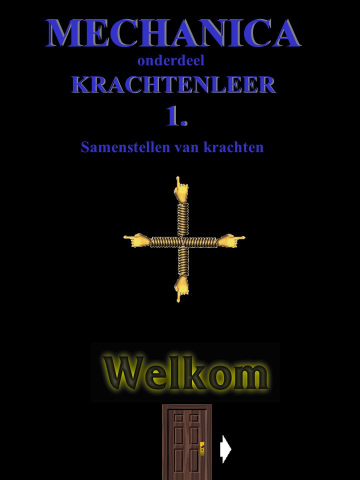 Samenstellen van krachten