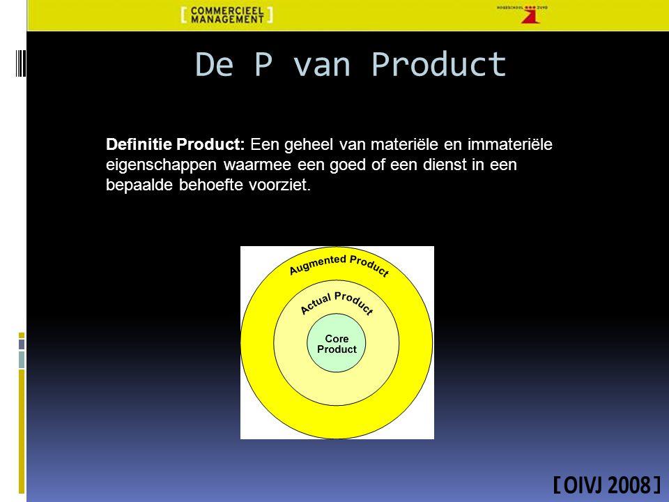 De P van Product