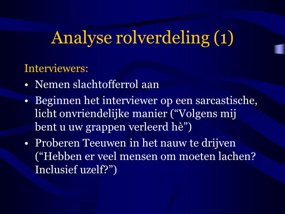 Analyse rolverdeling (1)