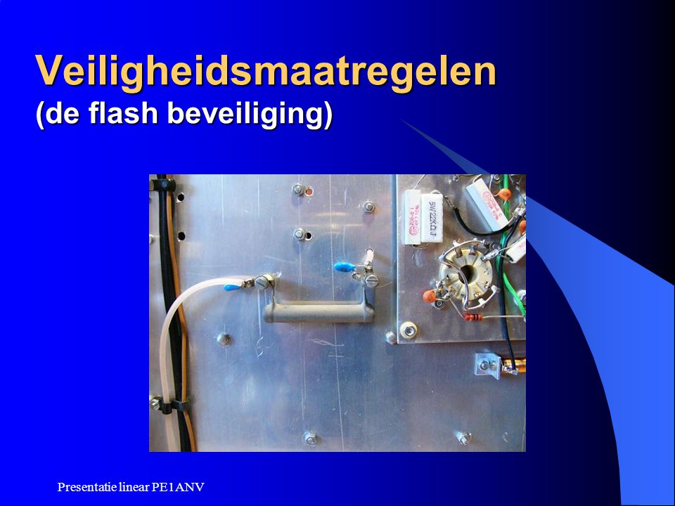 Veiligheidsmaatregelen (de flash beveiliging)
