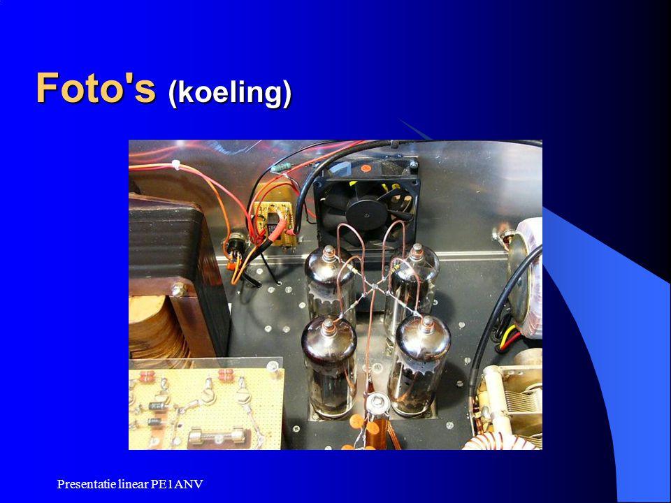 Foto s (koeling) Presentatie linear PE1ANV