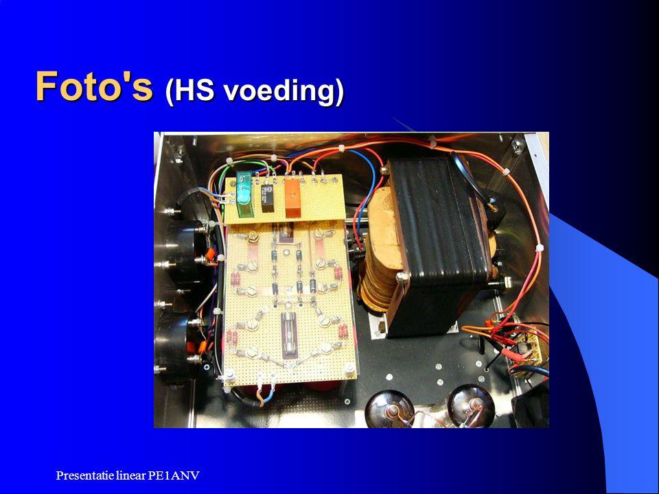 Foto s (HS voeding) Presentatie linear PE1ANV