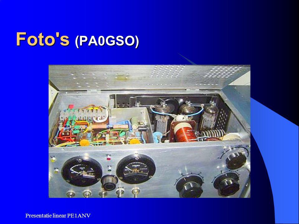 Foto s (PA0GSO) Presentatie linear PE1ANV