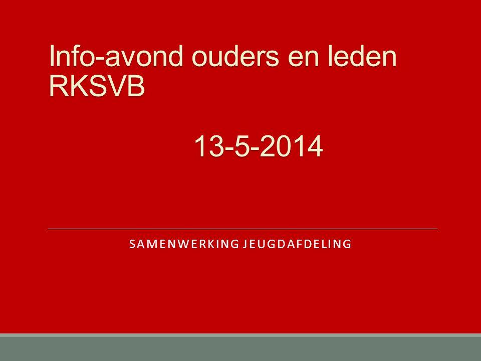 Info-avond ouders en leden RKSVB 13-5-2014