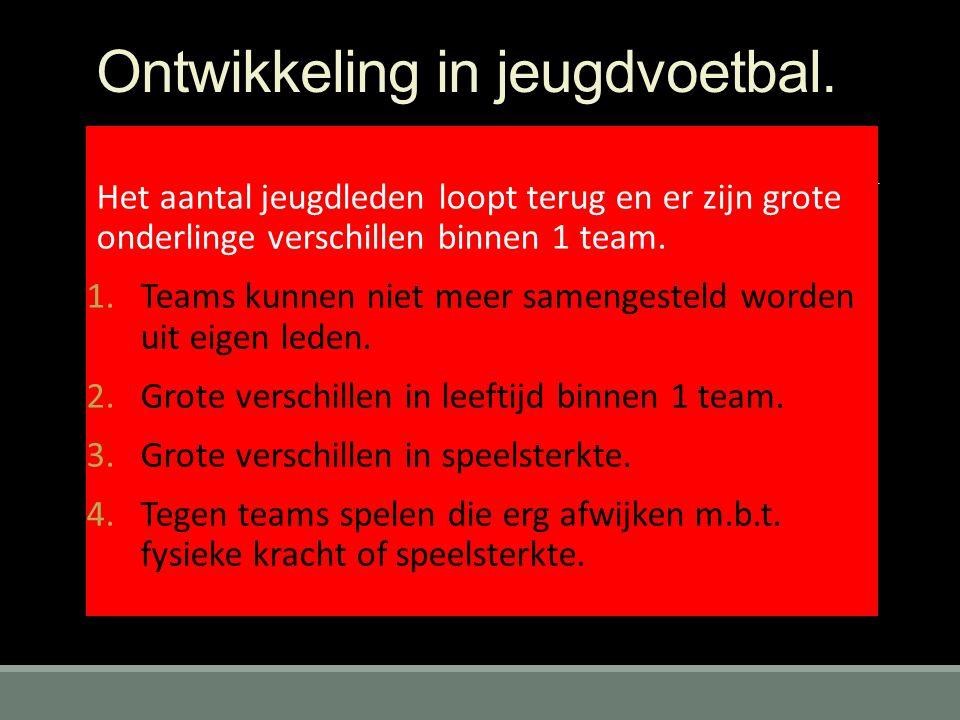 Ontwikkeling in jeugdvoetbal.