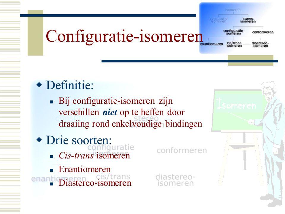 Configuratie-isomeren