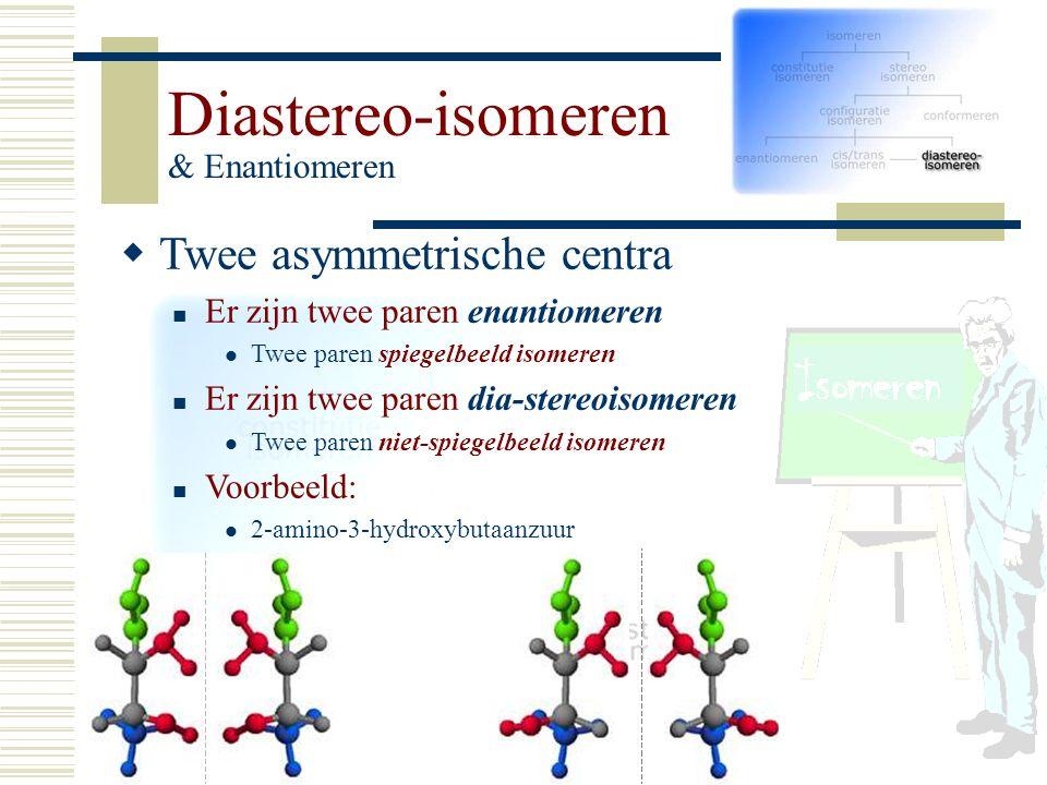 Diastereo-isomeren & Enantiomeren