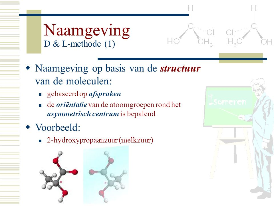 Naamgeving D & L-methode (1)