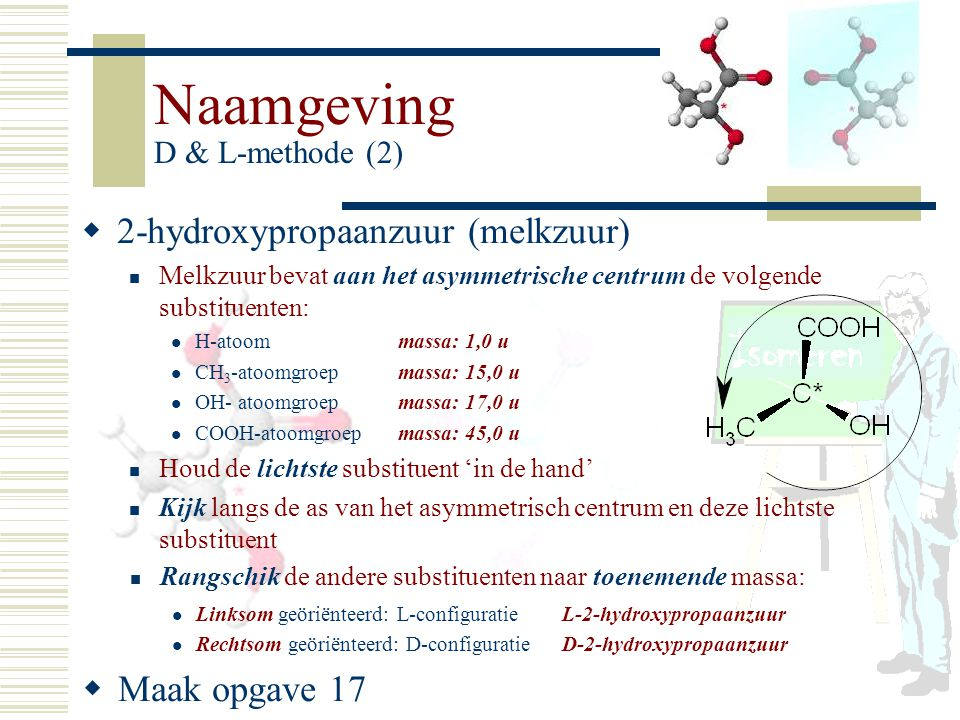 Naamgeving D & L-methode (2)