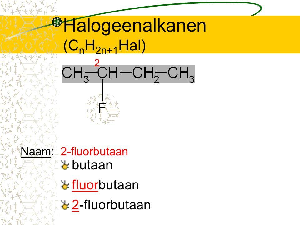 Halogeenalkanen (CnH2n+1Hal)