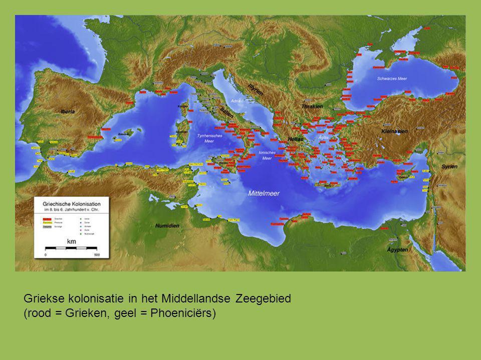 Griekse kolonisatie in het Middellandse Zeegebied