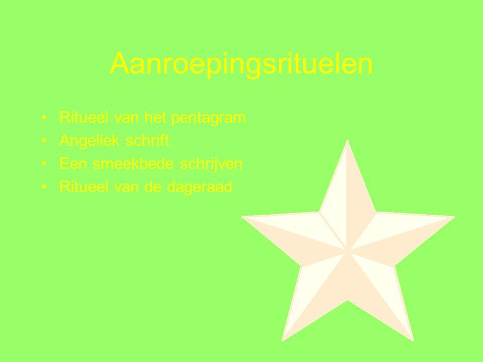 zeven van pentagrammen