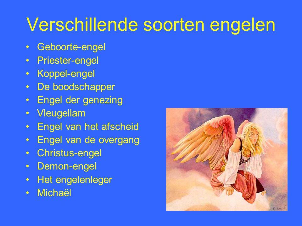 Verschillende soorten engelen