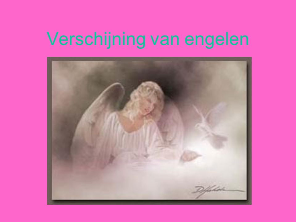 Verschijning van engelen