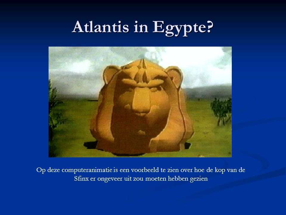 Atlantis in Egypte