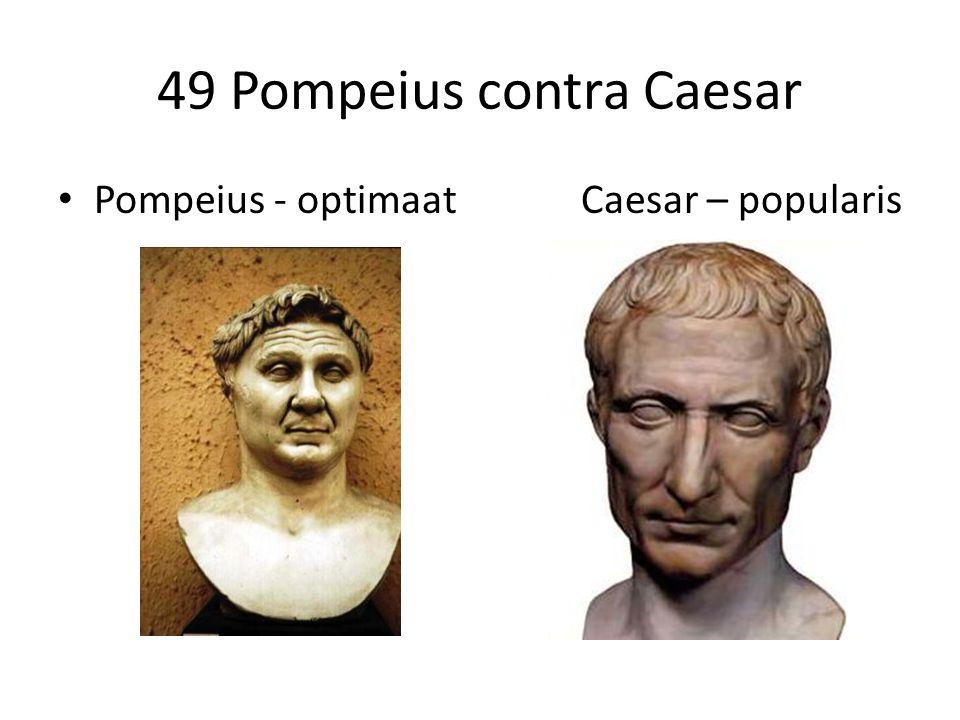 49 Pompeius contra Caesar