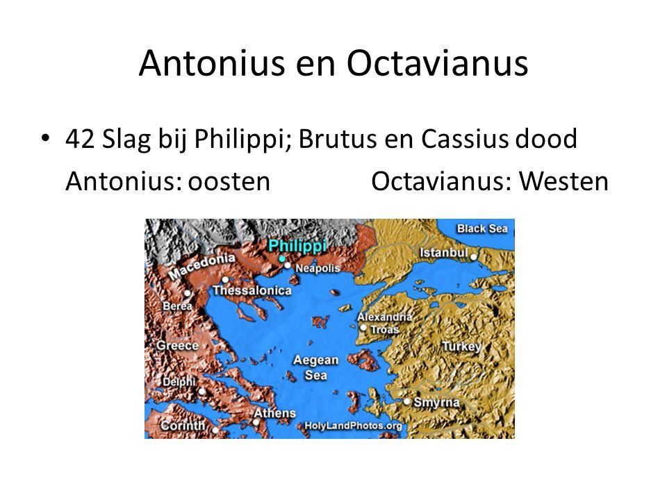Antonius en Octavianus