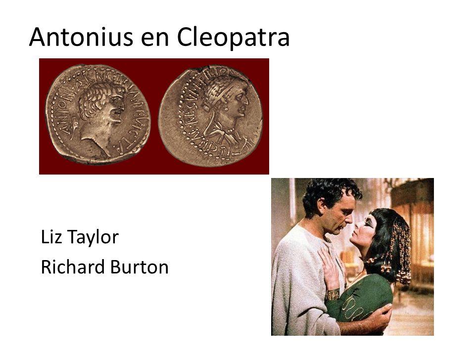 Antonius en Cleopatra Liz Taylor Richard Burton