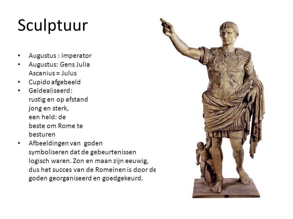 Sculptuur Augustus : imperator Augustus: Gens Julia Ascanius = Julus