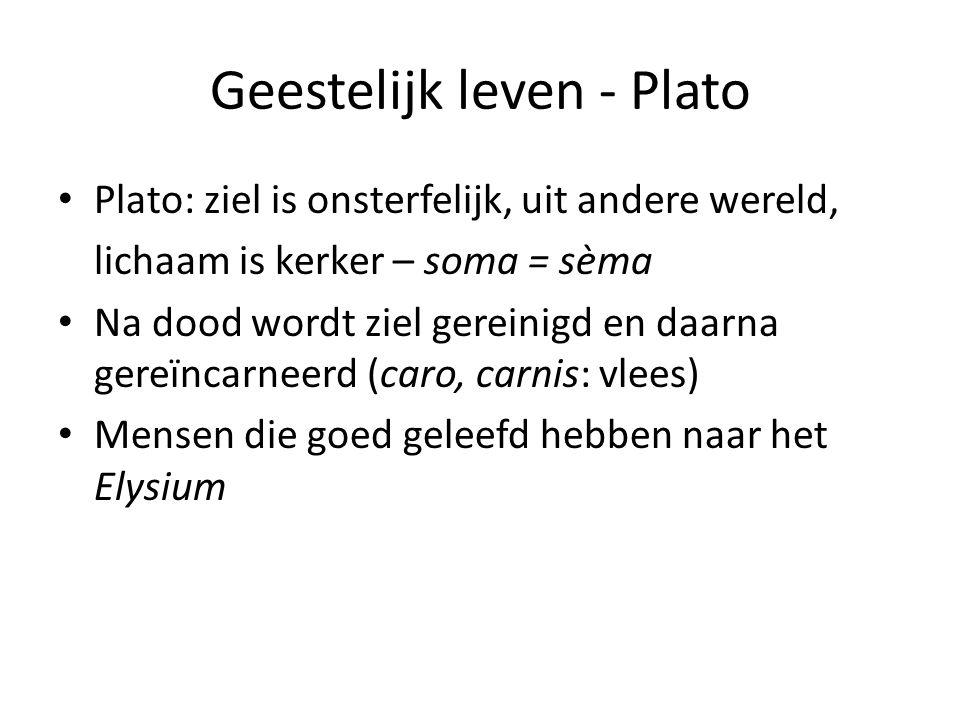 Geestelijk leven - Plato