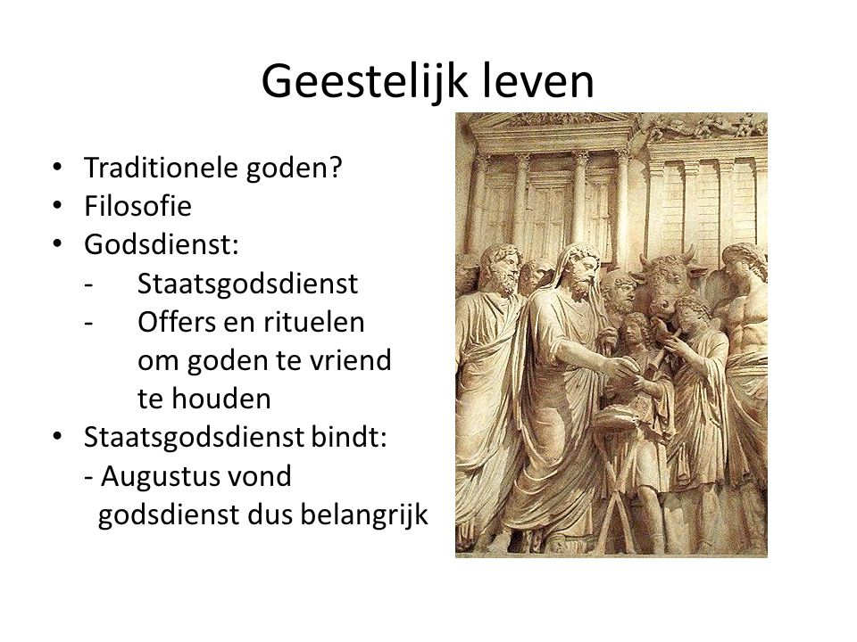 Geestelijk leven Traditionele goden Filosofie Godsdienst: