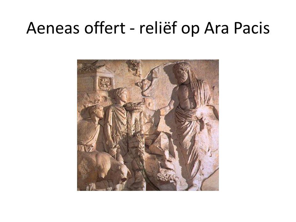 Aeneas offert - reliëf op Ara Pacis