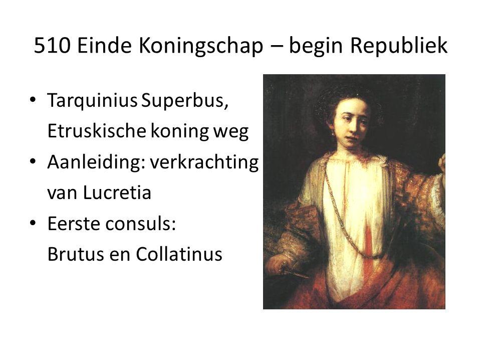 510 Einde Koningschap – begin Republiek