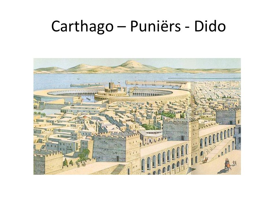 Carthago – Puniërs - Dido