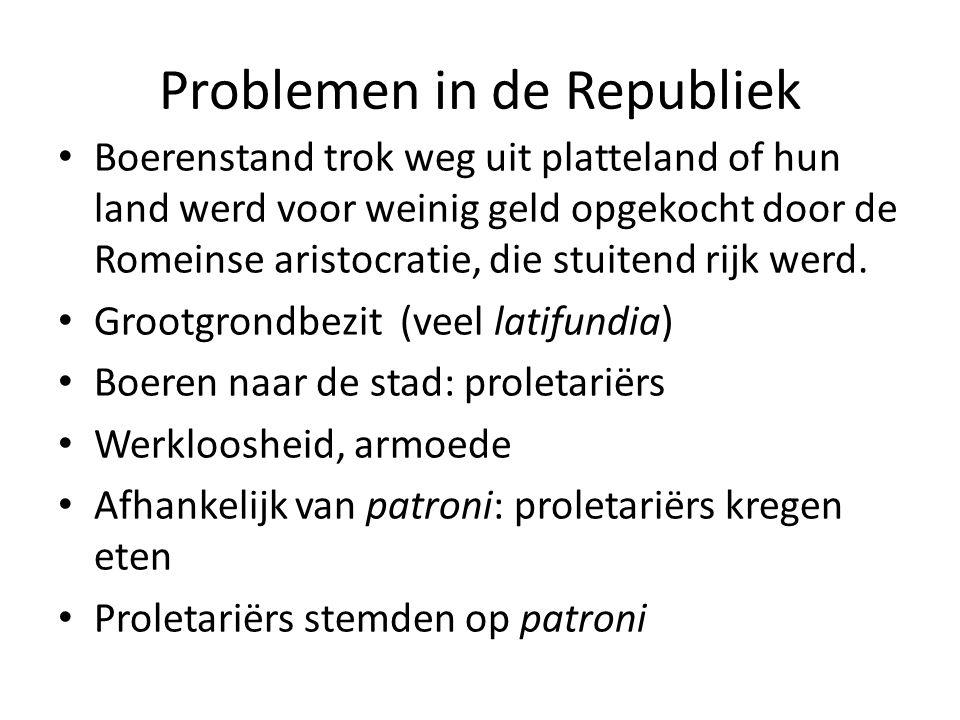 Problemen in de Republiek