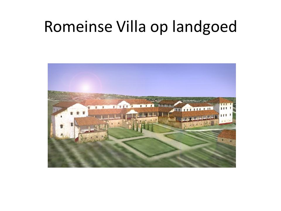 Romeinse Villa op landgoed