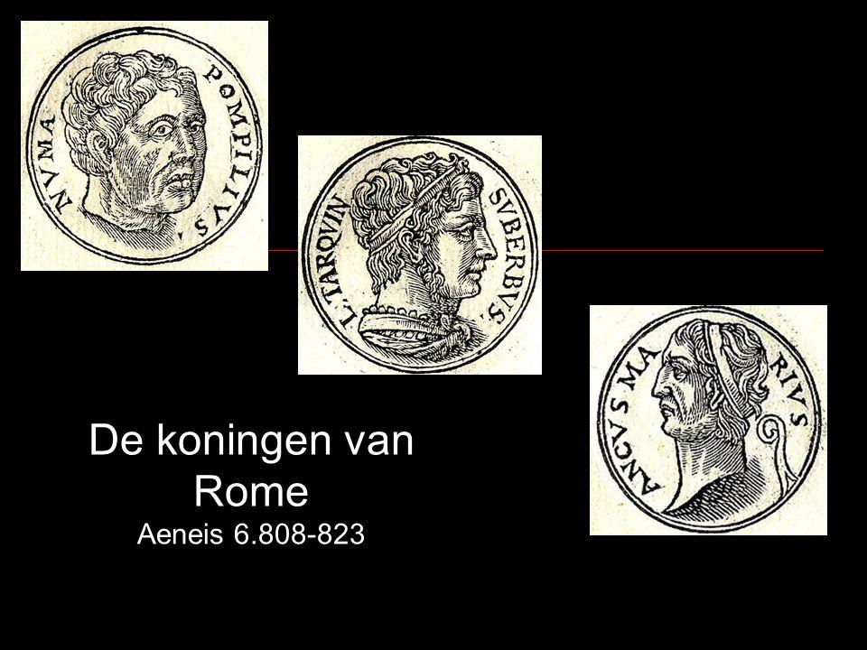 De koningen van Rome Aeneis 6.808-823