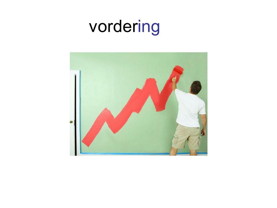 vordering