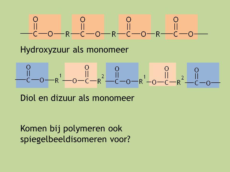 Hydroxyzuur als monomeer
