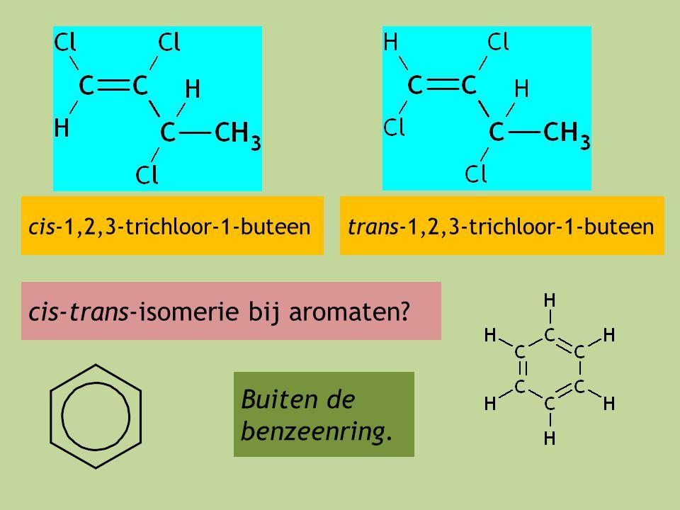 cis-trans-isomerie bij aromaten
