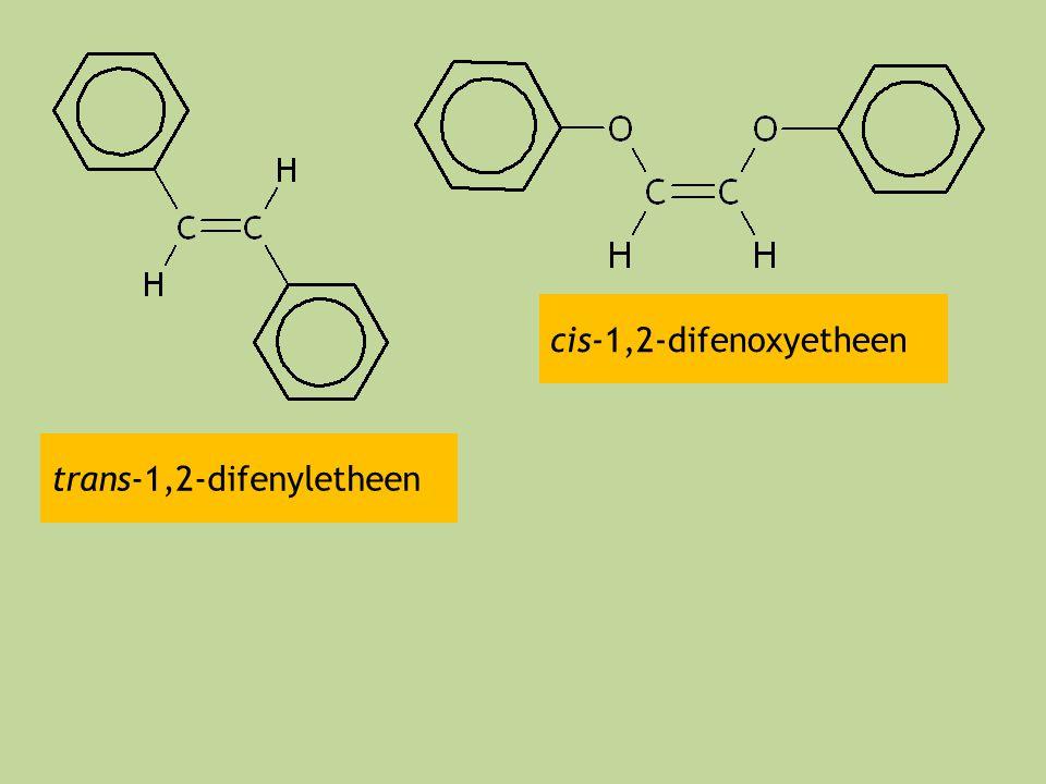 cis-1,2-difenoxyetheen trans-1,2-difenyletheen