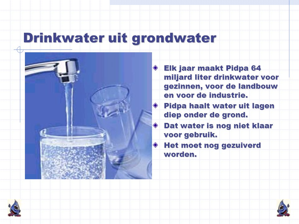 Drinkwater uit grondwater