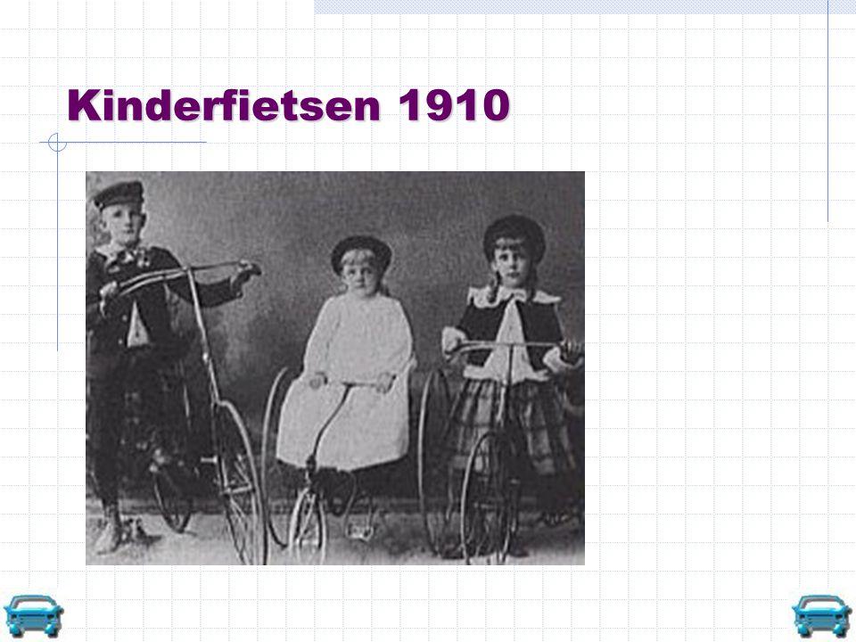 Kinderfietsen 1910