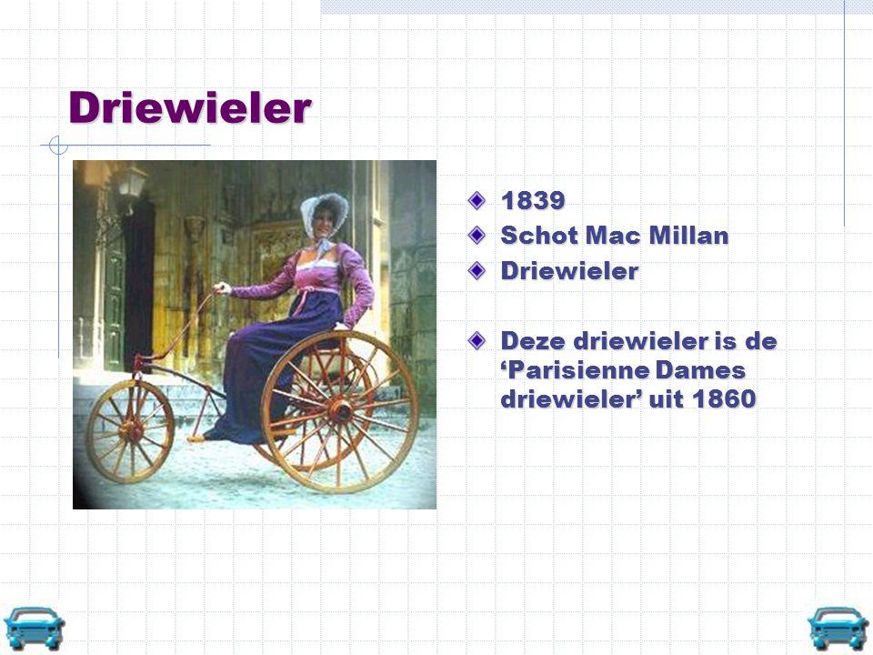 Driewieler 1839 Schot Mac Millan Driewieler