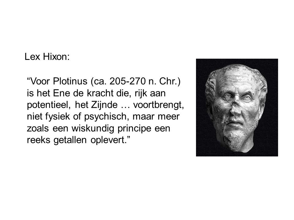 Lex Hixon: