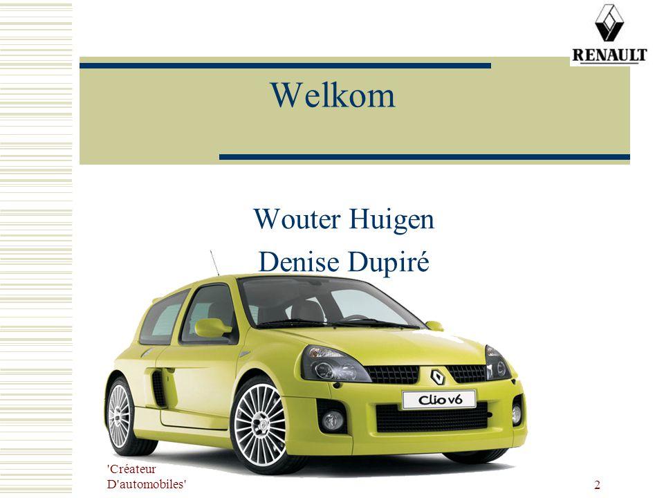 Wouter Huigen Denise Dupiré