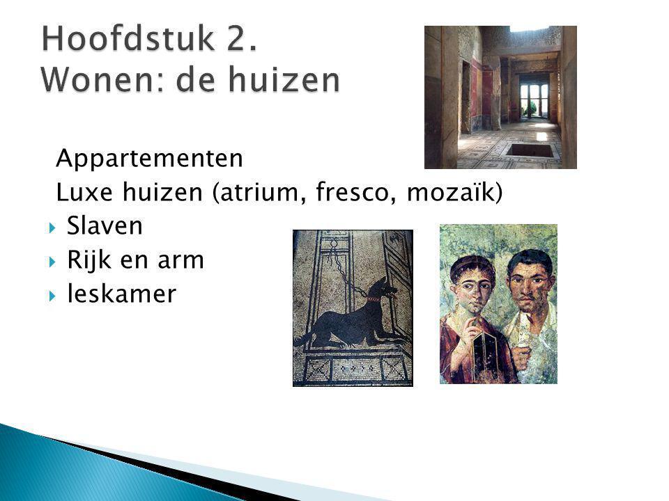 Hoofdstuk 2. Wonen: de huizen