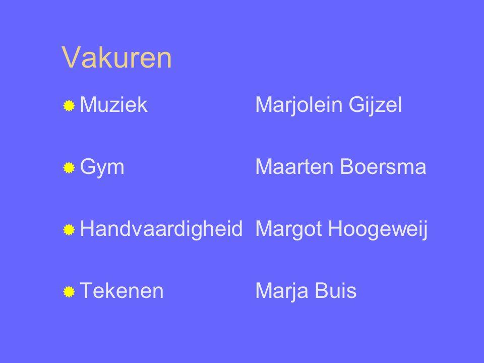 Vakuren Muziek Marjolein Gijzel Gym Maarten Boersma