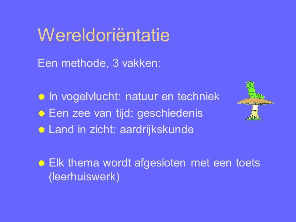 Wereldoriëntatie Een methode, 3 vakken:
