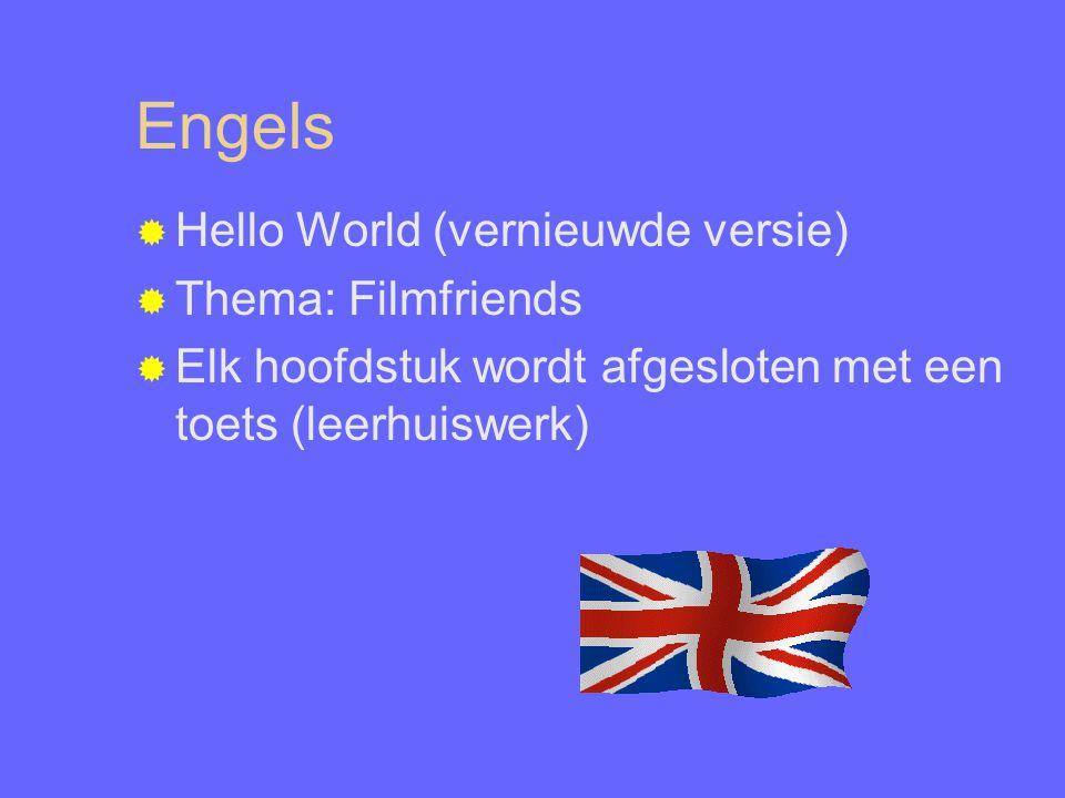Engels Hello World (vernieuwde versie) Thema: Filmfriends